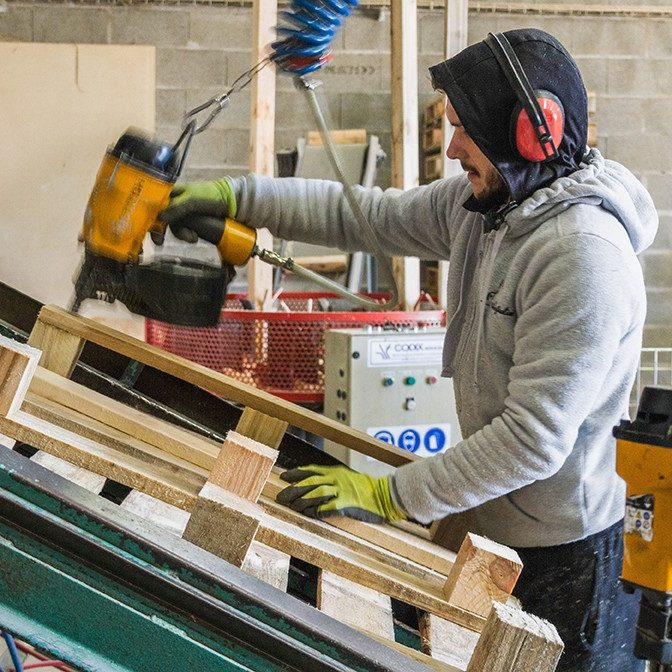 réparation de palette bois près de Tours (37)