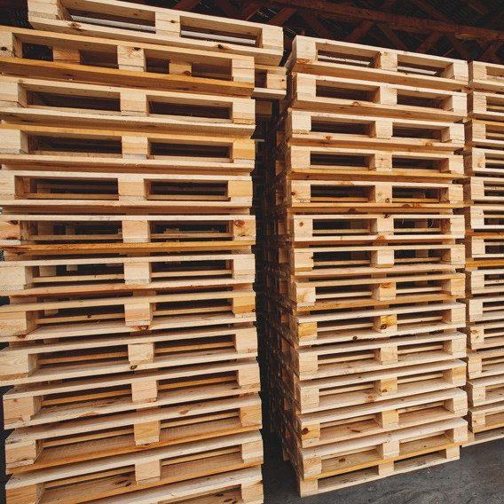 connaître la différence entre une palette de bois pas cher et une palette Europe